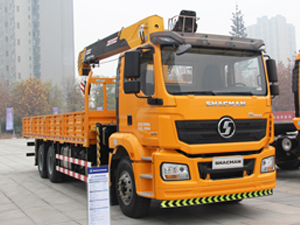 Shacman H3000 Truck Mounted Crane,