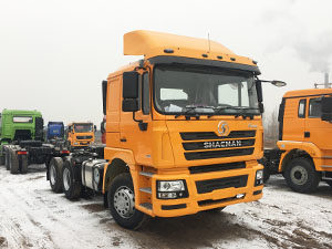 Shacman F3000 6X4 tractor truck 385hp with Cummins engine
