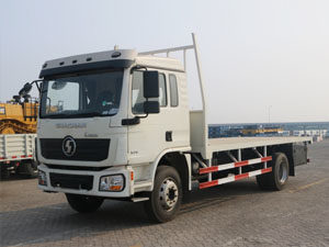 SHACMAN L3000 4x2 flatbed truck
