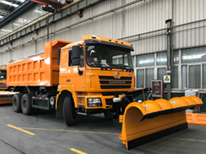 Shacman 6X4 Snow Sweeper (1)