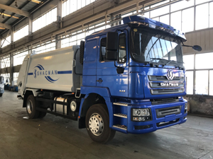 Shacman F3000 12 cubic meter Garbage Truck (1)