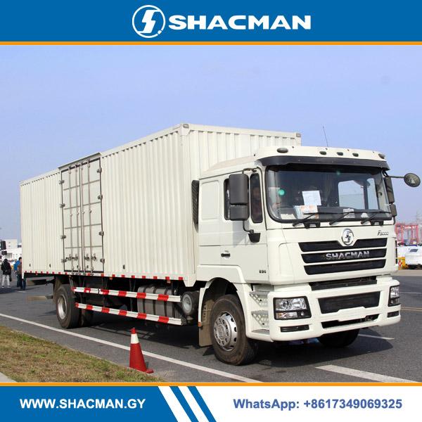 Shacman F3000 4×2 Steel Box Truck