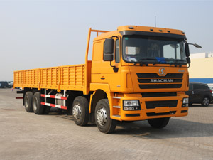 Shacman F3000 6X4 340HP Flatbed Truck with sides wall