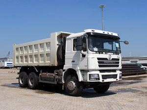Shacman F3000 6x4 10 wheeler dump truck 385hp with Cummins engine