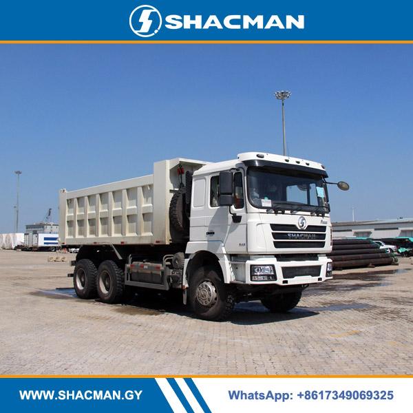 Shacman F3000 6×4 10 wheeler dump truck 385hp with Cummins engine