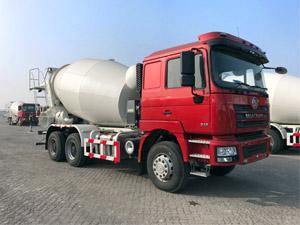 Shacman F3000 6x4 9cbm Concrete Cement Mixer Truck (1)
