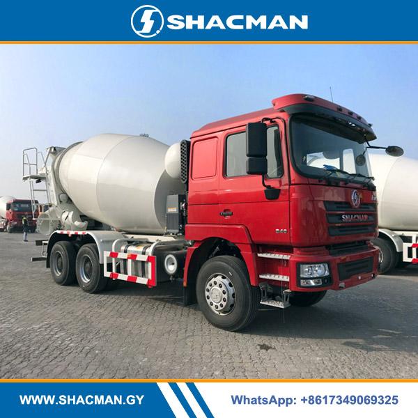 Shacman F3000 6×4 9cbm Concrete Cement Mixer Truck