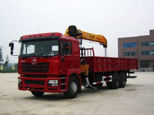 Shacman F3000 6X4 Crane Truck