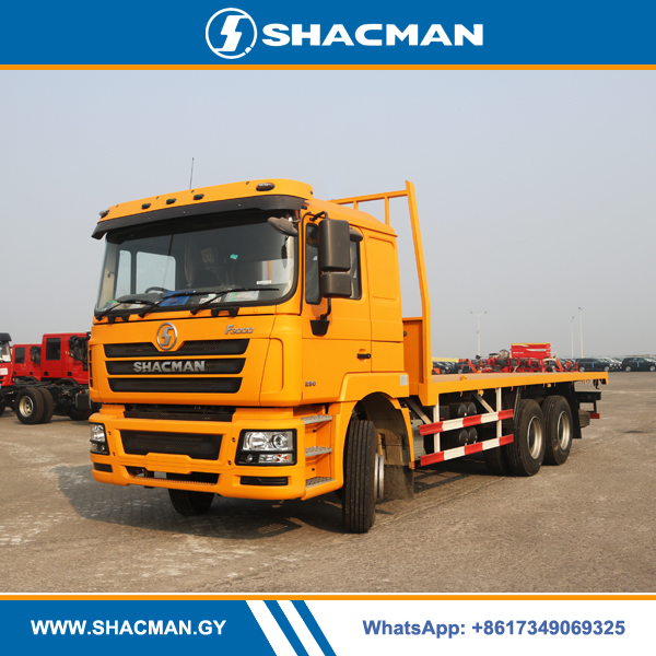 Shacman F3000 6×4 Flatbed Truck