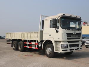 Shacman F3000 6x4 Flatbed Truck with sides wall