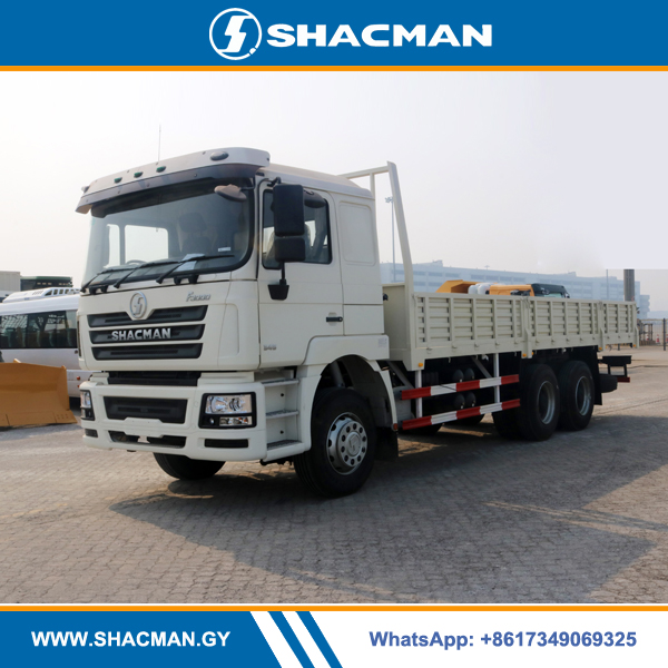 Shacman F3000 6×4 Flatbed Truck with sides wall