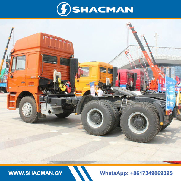 Shacman F3000 6×4 tractor truck with 400 horse power