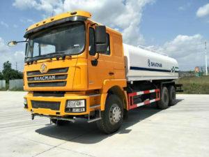 Shacman F3000 6X4 20,000 Liters Water Sprinkler Truck