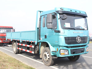 Shacman L3000 4x2 Flatbed Truck with Sides