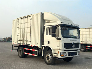 Shacman L3000 4x2 Steel Box Truck