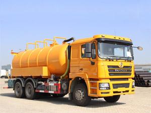 Shacman Vacuum Tank Truck