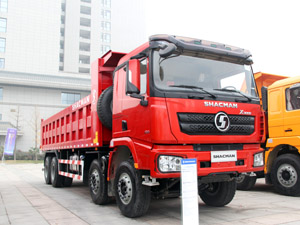 Shacman X3000 8x4 12 wheeler Dump Truck