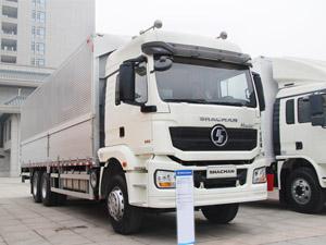 Shacman H3000 6x4 steel box van wing open truck