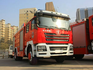 Shacman F2000 Water Tank Fire Fighting Truck