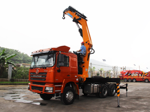 Shacman F3000 20 Ton Kunckle Crane Truck from China