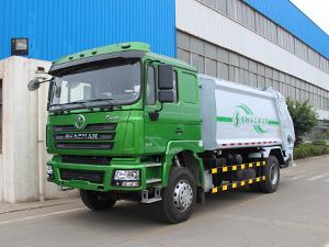 Shacman F3000 4x2 14cbm Garbage Compactor Refuse Truck