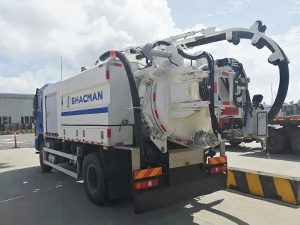 Shacman L3000 Multi-functional Dredge Suction Truck