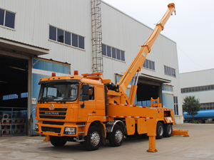 30ton wrecker tow truck 10 wheels 6x4 380hp from Shacman