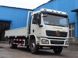 flabtbed truck with side walls from China Shacman