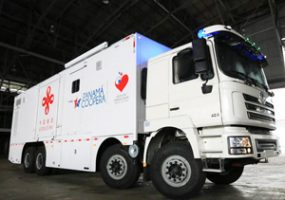 Shacman Mobile Clinic