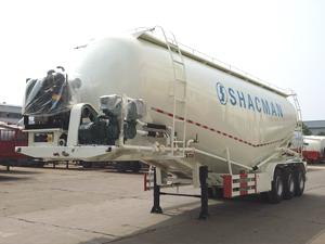 3 Axles 50cbm 60 ton dry powder cement bulker trailer